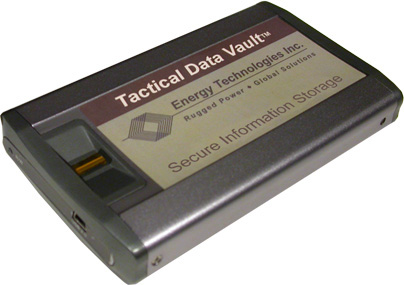 Tactical Data Vault Secure Information Storage
