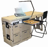 Tactical Field Office: Providing your power, computing and workspace needs in the field.